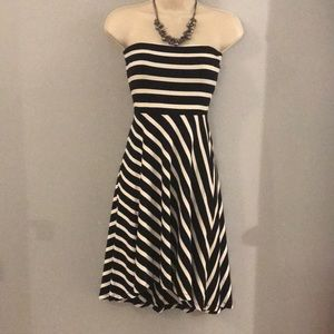 Loft Strapless Dress